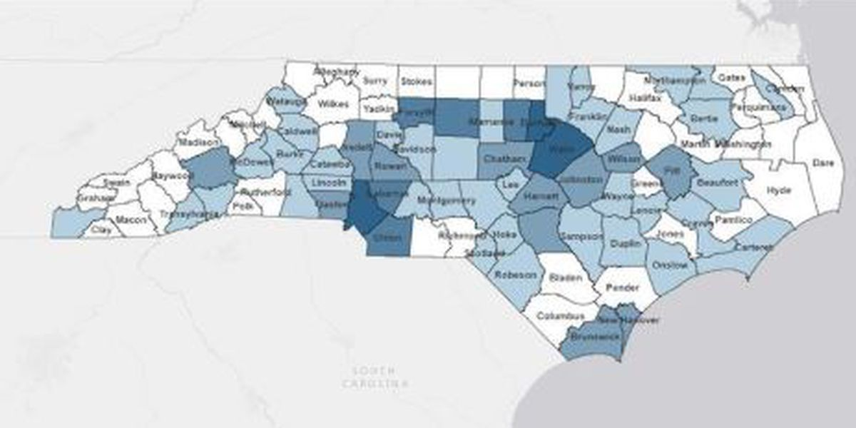 763 people have tested positive for coronavirus in NC