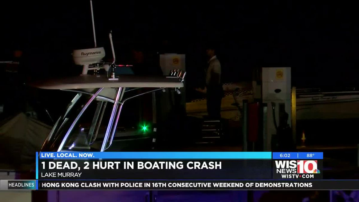 Man charged with felony BUI in deadly Lake Murray boat crash