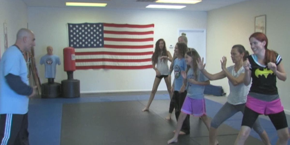 Self-defense training prepares students for campus safety
