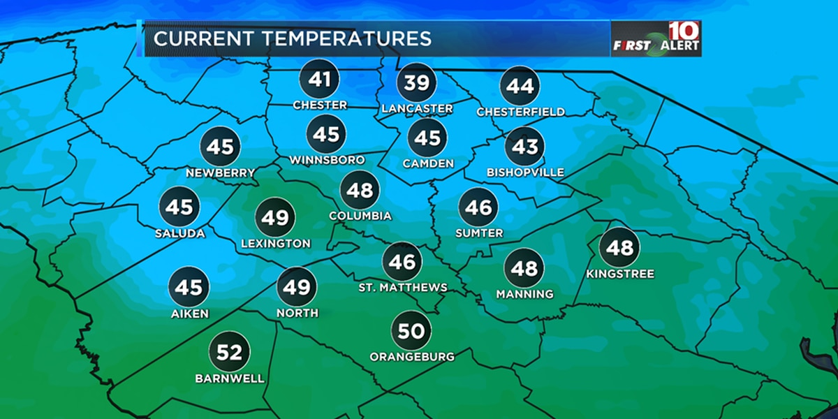 FIRST ALERT: Dry today, rain returns by Wednesday