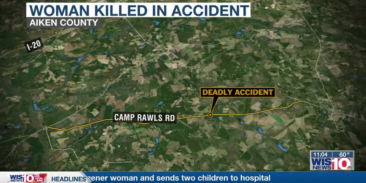 Aiken County collision claims life of Wagener woman and sends two children to hospital