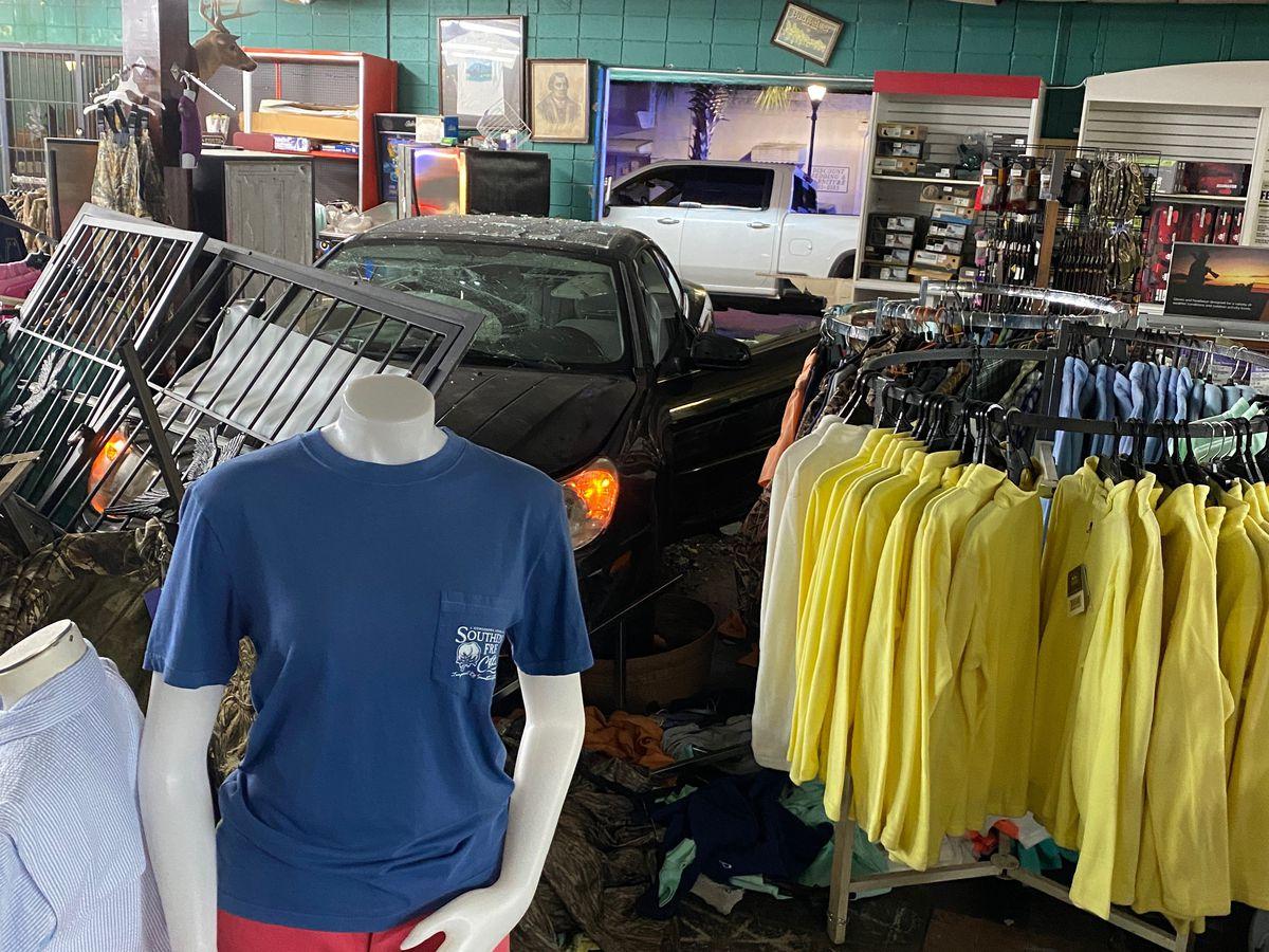 """Absolutely devastated"": Orangeburg store owner rebuilds after car rams building"