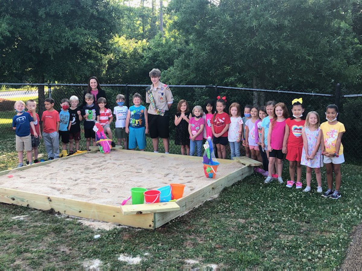 School District Five student uses Eagle Scout project to improve playgrounds at Chapin Elementary