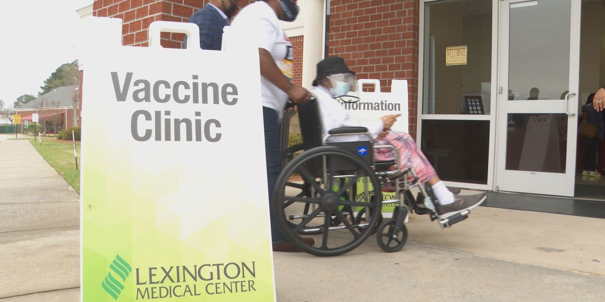 'Today was a blessing': 103-year-old receives vaccine at Brookland Baptist Church