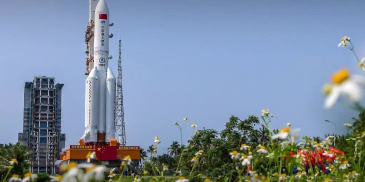 Chinese space debris to come crashing to Earth