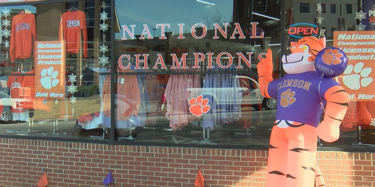Clemson fans 'keep the party rolling' after national championship win
