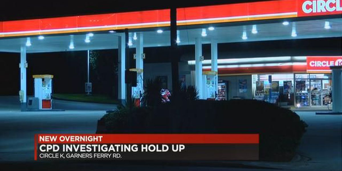 Gas station robbery investigated