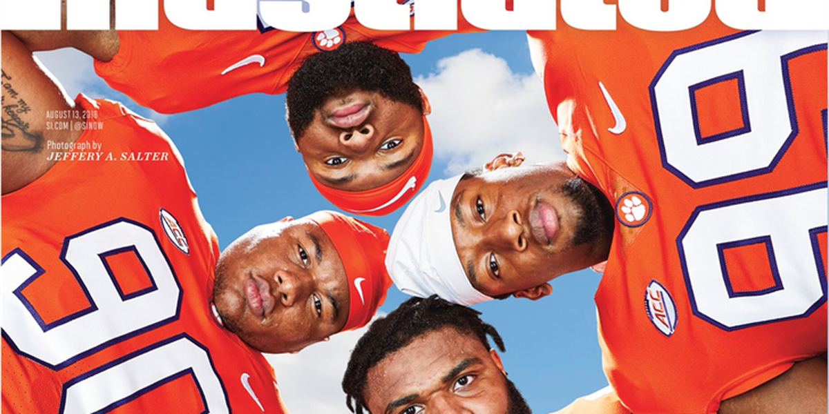 Clemson defensive lines makes appearance on SI cover