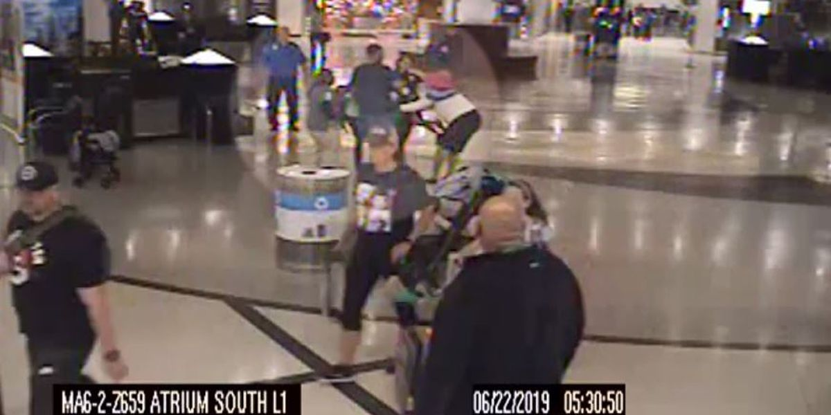 Parents fight back as woman allegedly tries to kidnap children at Atlanta airport