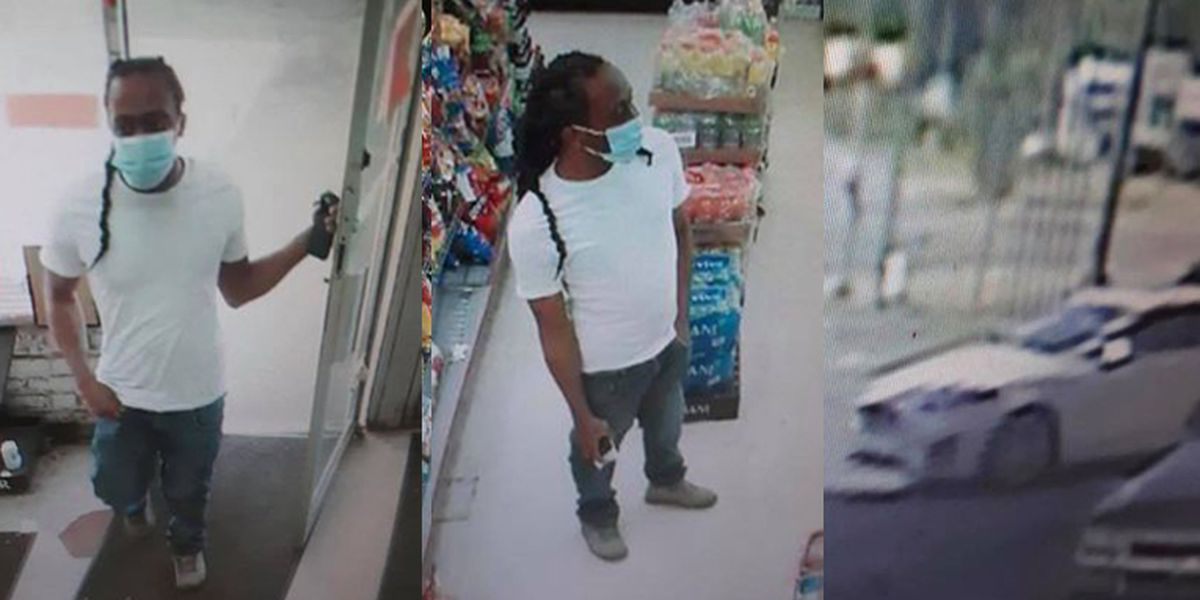 Police look to identify man who allegedly exposed himself to clerk