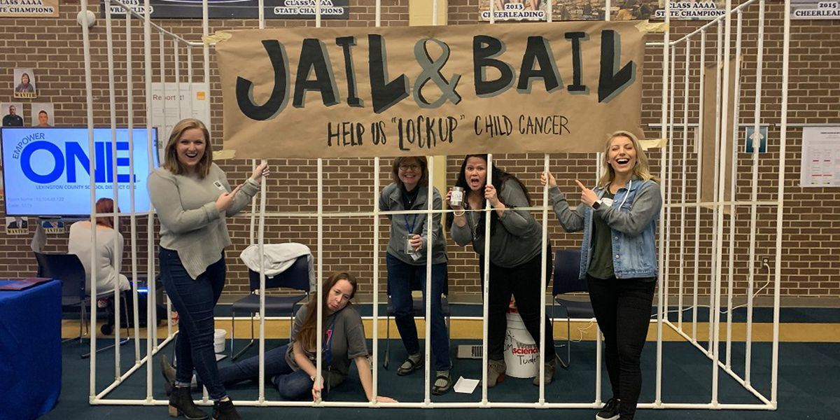 Two members of the WIS 4 p.m. team go to 'jail' for a good cause