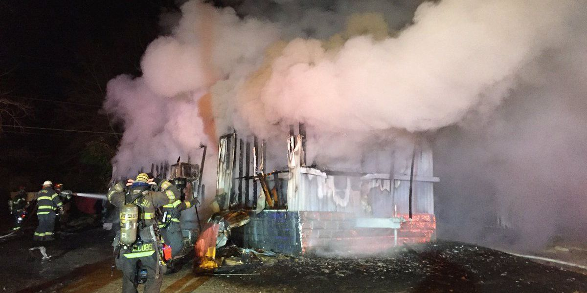 Fire at Columbia mobile home park leaves 4 without a home