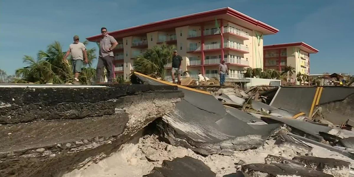 LIVE: President, first lady to tour FL, GA areas ravaged by Hurricane Michael