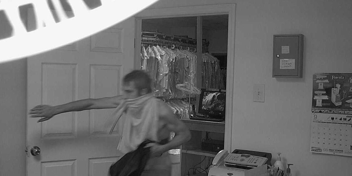 SURVEILLANCE PHOTOS: Lexington PD looking for dry-cleaning burglary suspect