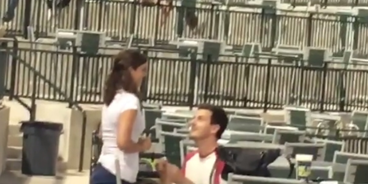 VIDEO: Proposal strikeout at Fireflies game was a fake