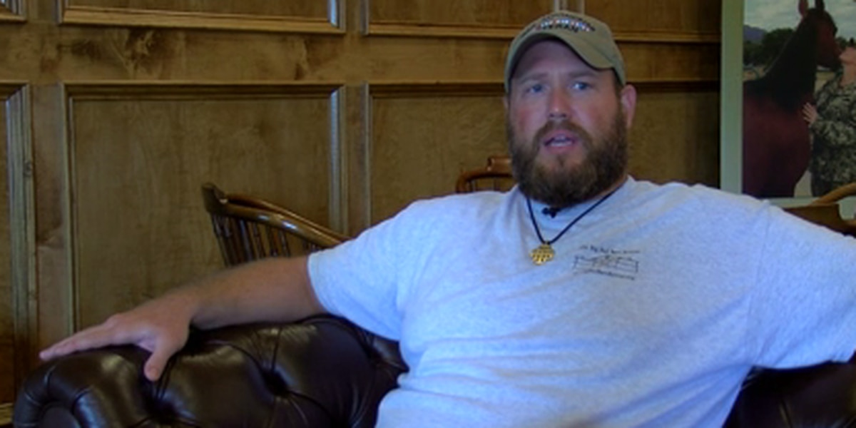 A Midlands vet is thankful for an SC retreat service to treat his PTSD