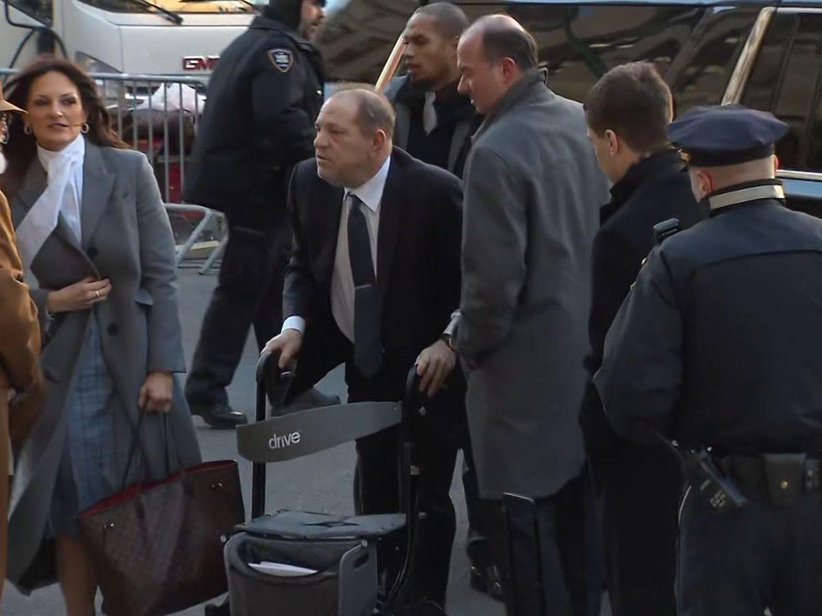 Weinstein rape trial jurors keep focus on 'Sopranos' actress