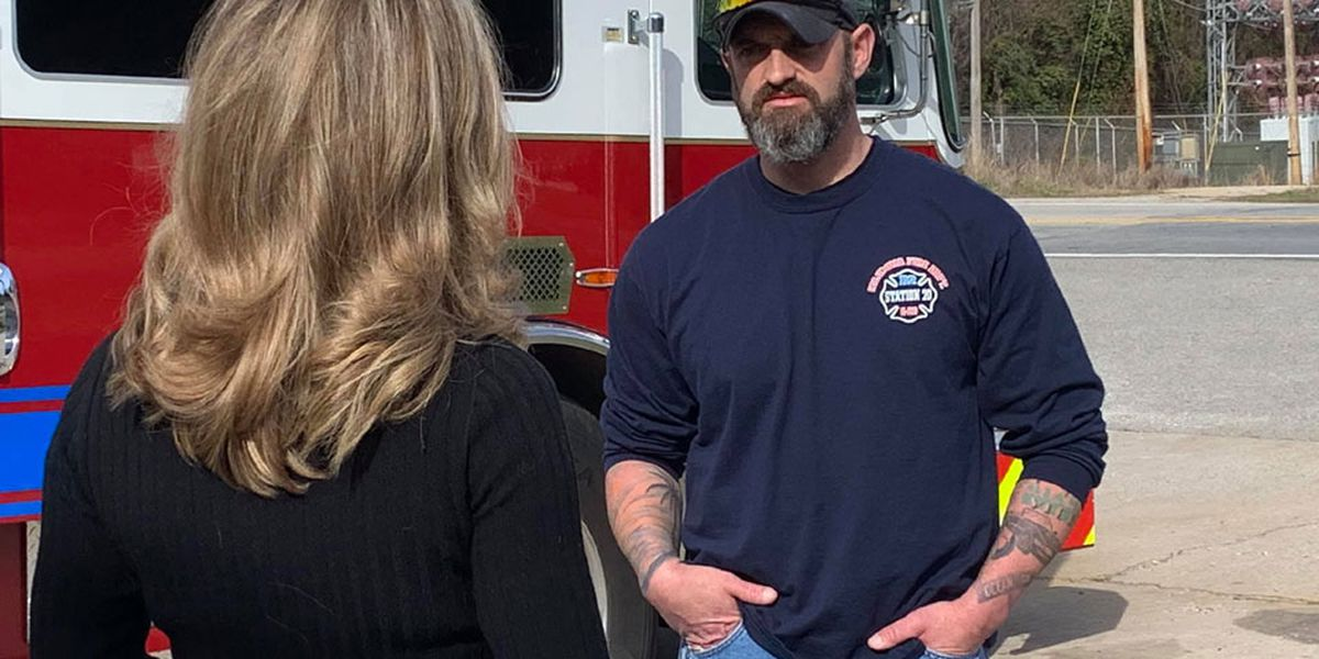 Midlands firefighter back on the job after a big sacrifice