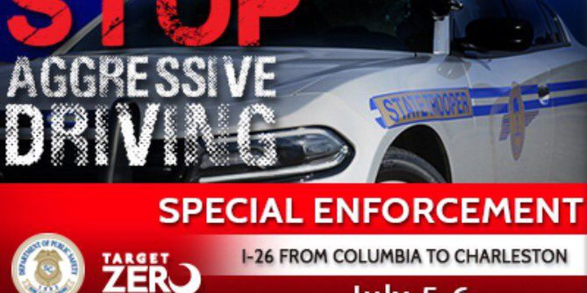 SCHP looking for aggressive drivers on I-26