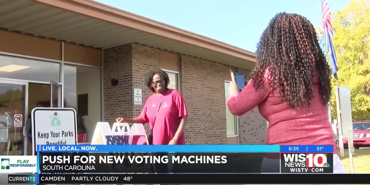 Push for new voting machines