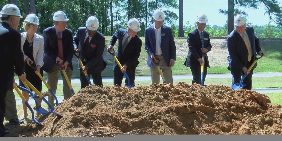 Columbia International University breaks ground $20 million project