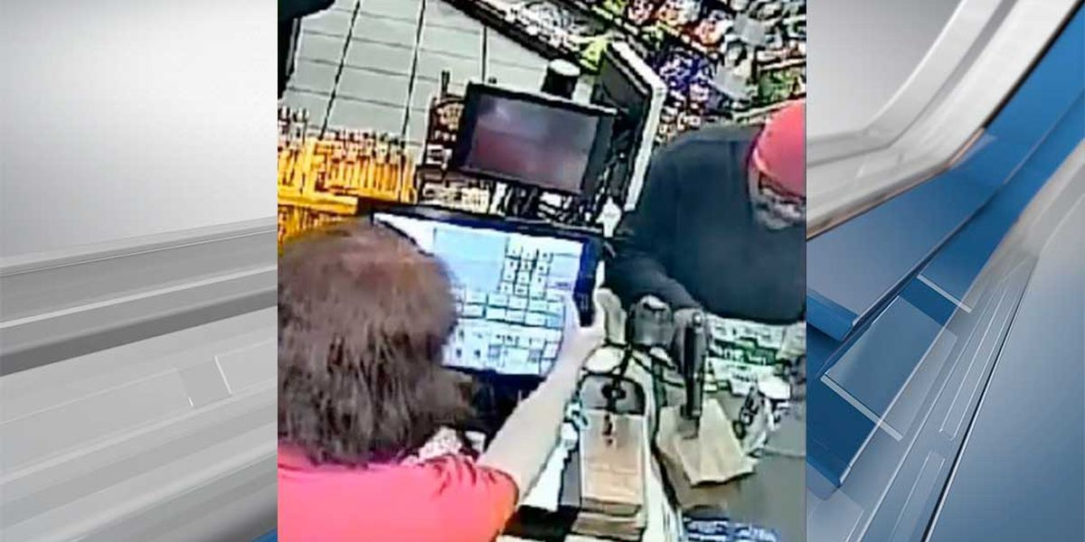WATCH: Man caught on camera robbing Columbia gas station