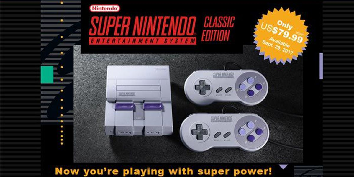 Nintendo's SNES Classic is released, but get ready to fight to buy one