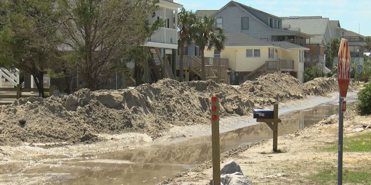 Pawleys Island officials cleaning up in wake of Hurricane Dorian
