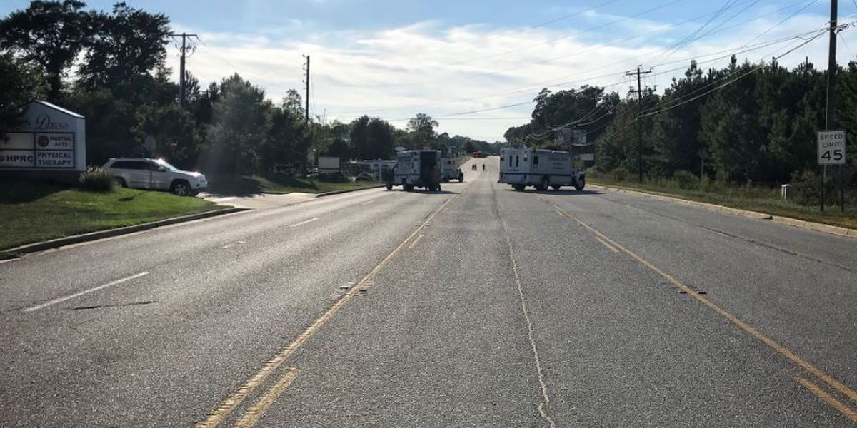Highway 378 in Lexington reopened after gas leak shut down all lanes