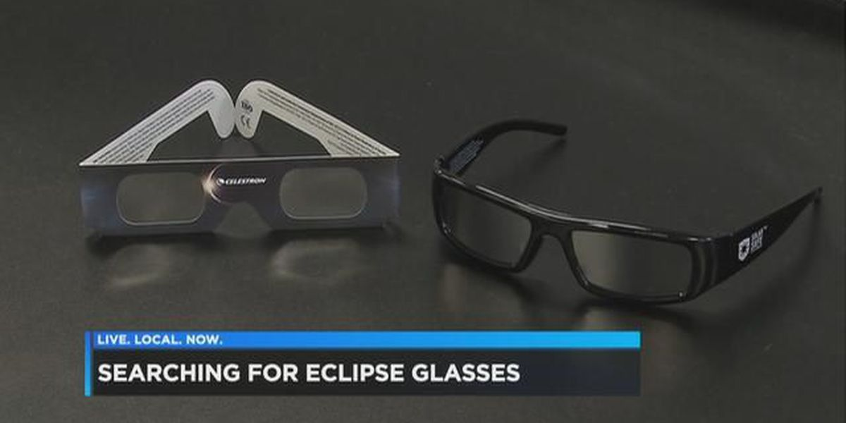 Making sure your glasses are safe for the eclipse