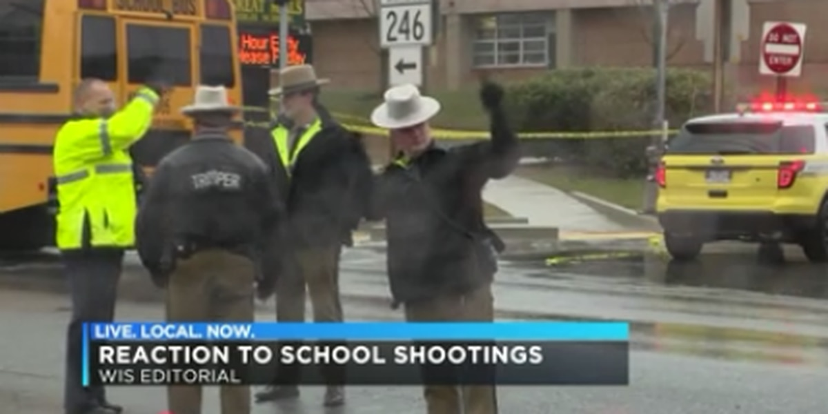 My Take: Reactions to school shootings