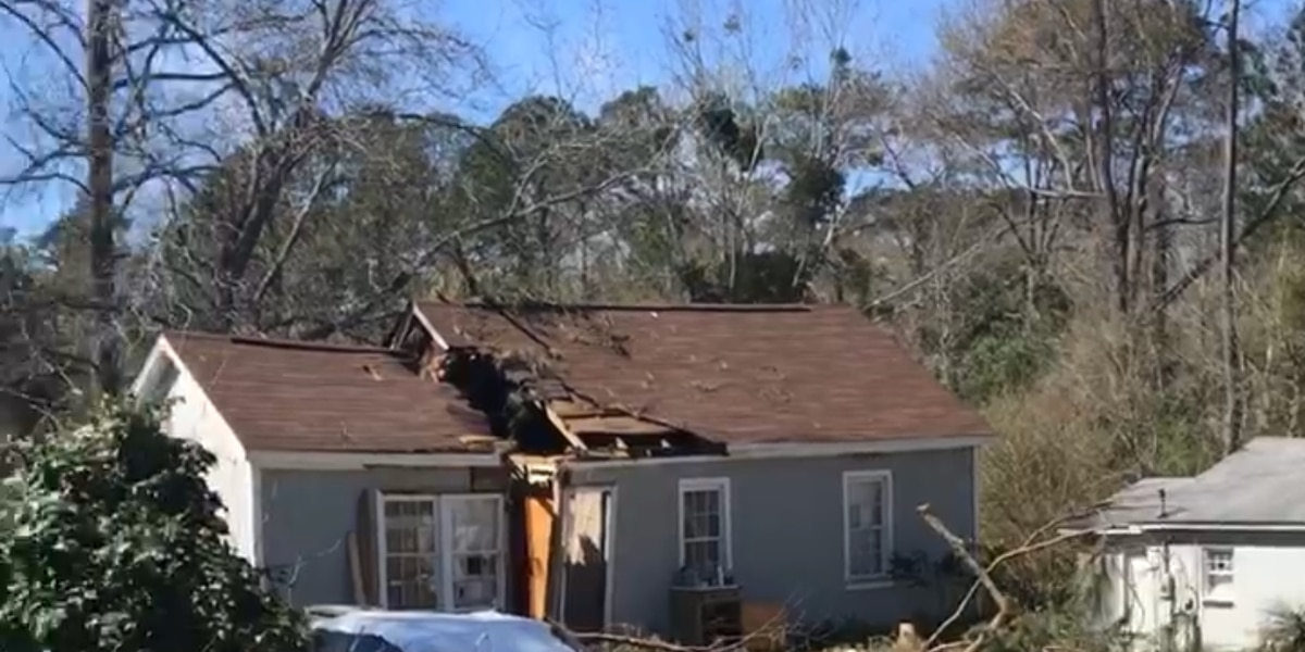 Big cleanup remains after EF-1 tornado touches down near Riverbanks Zoo