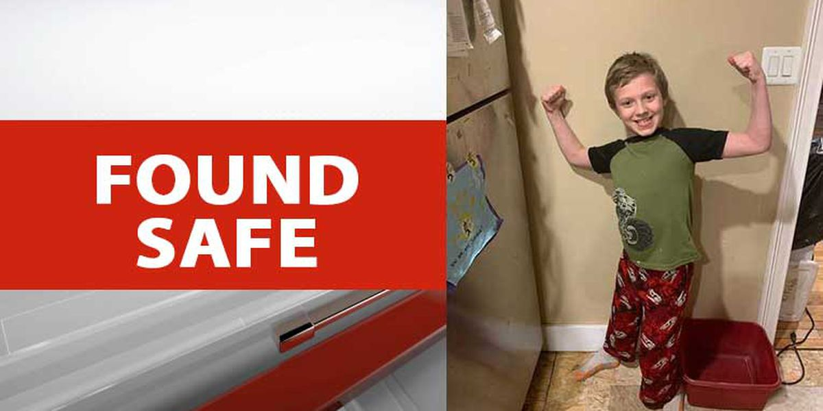 Missing 10-year-old in Laurens County found safe