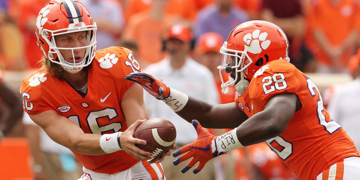No Trevor Lawrence, no problem. Travis Etienne carries Tigers to comeback win!