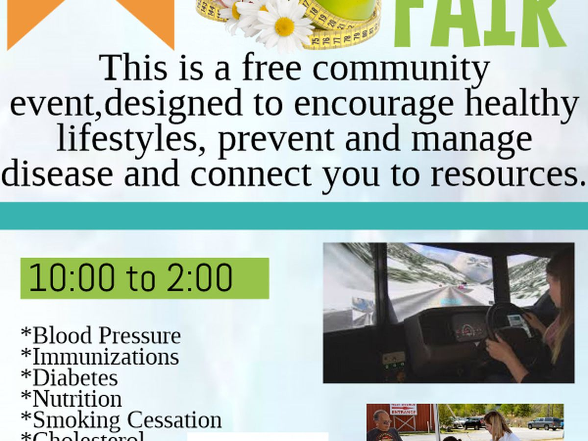 Talk of the Town: Free health fair just for you