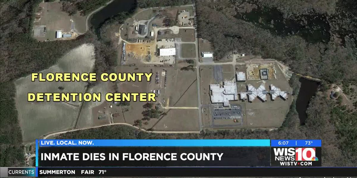 RCSD investigating death of inmate at Florence County Detention Center