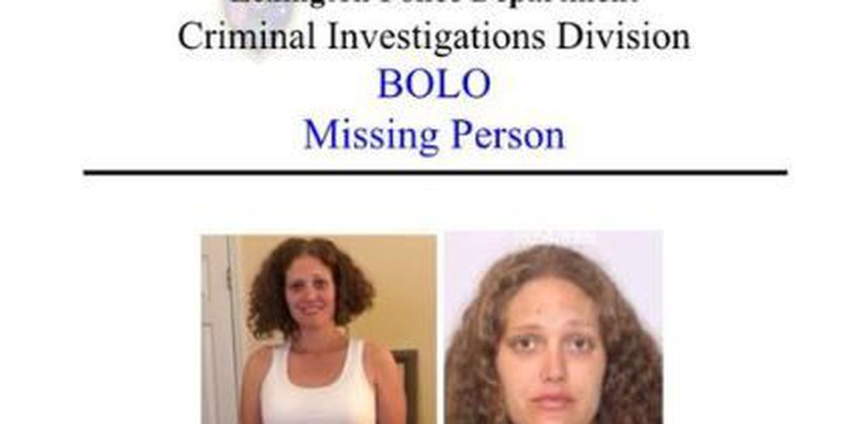 Lexington Police searching for missing woman recently released from doctor's care