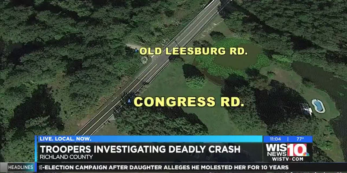 Fatal single-vehicle crash on Congress Road