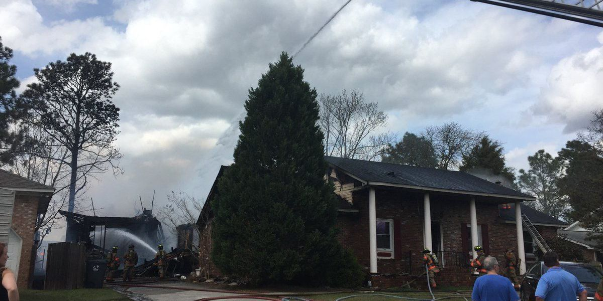 UPDATE: 7 displaced following West Columbia house fire