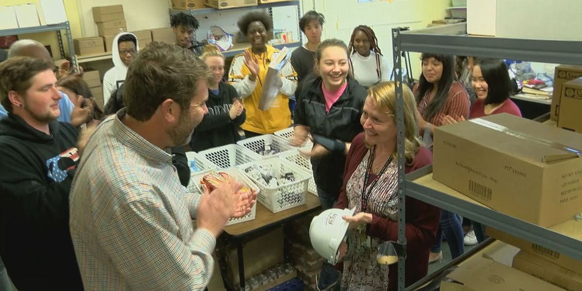 Community Builder: Teacher's pilot food pantry becomes community staple