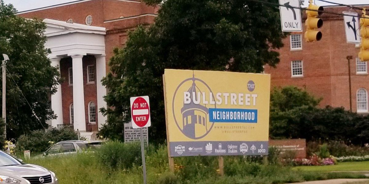 Garden or eyesore? Gardener explains décor at BullStreet development's entrance