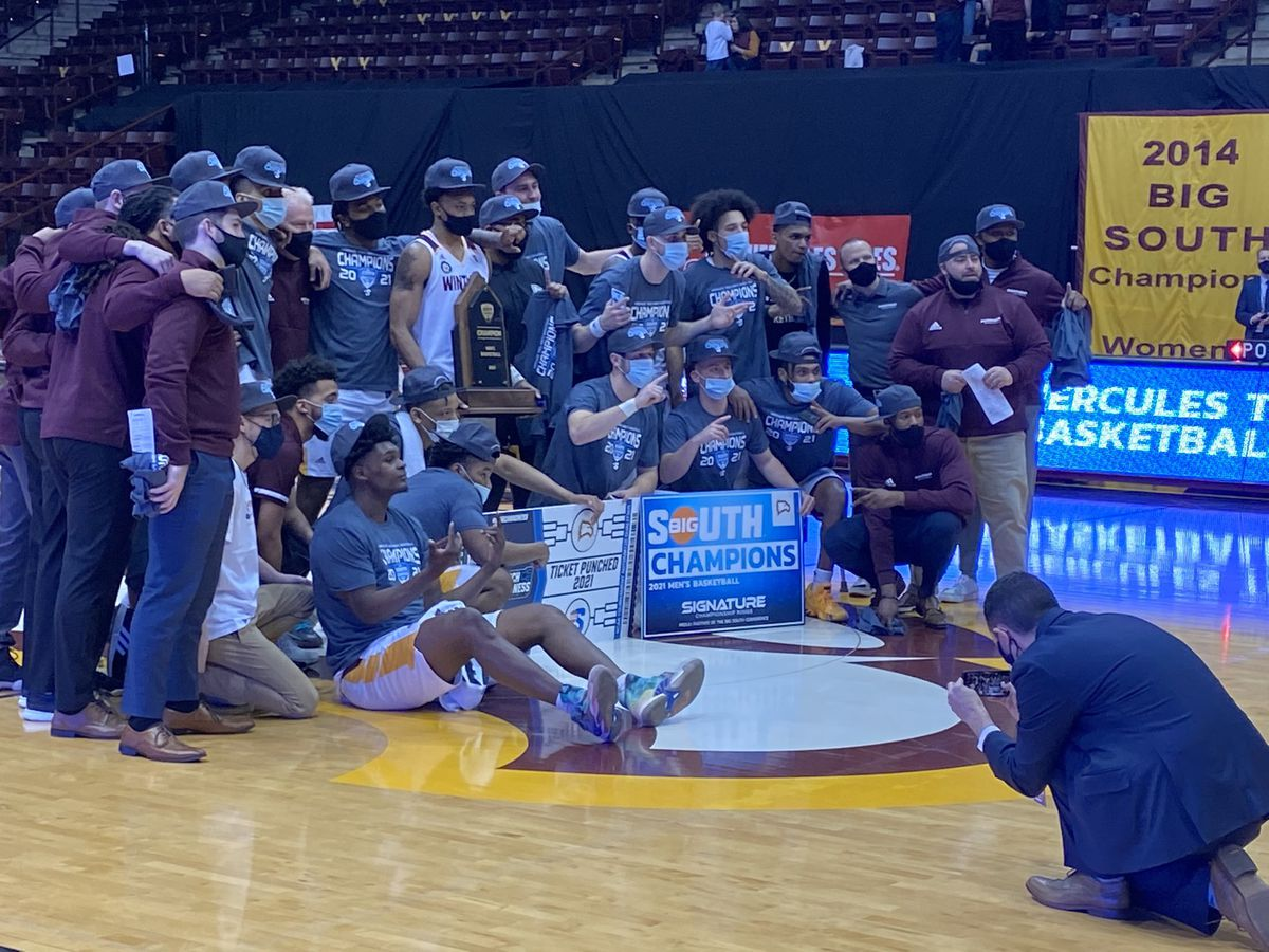Winthrop cruises to Big South title, automatic NCAA bid