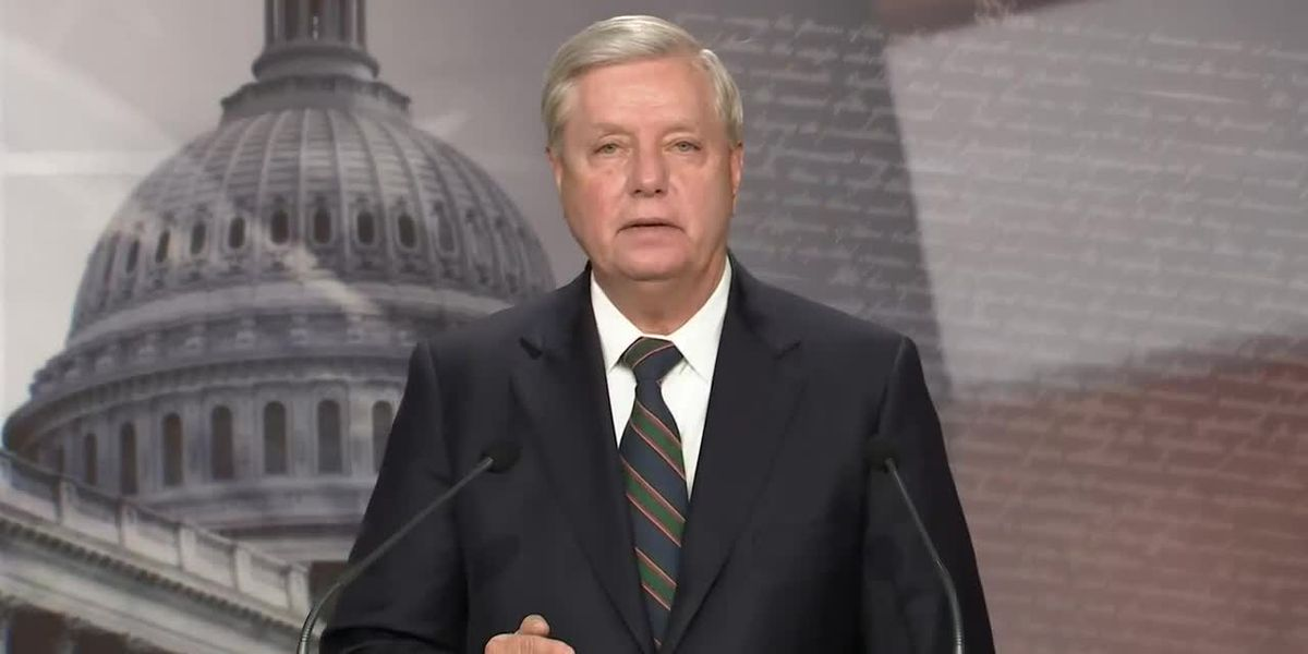 RAW VIDEO: Sen. Lindsey Graham holds news conference on DC riot, Trump presidency