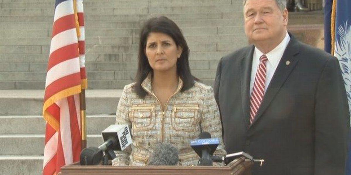 Gov. Nikki Haley on Sen Vincent Sheheen gaffe: 'I really don't care'