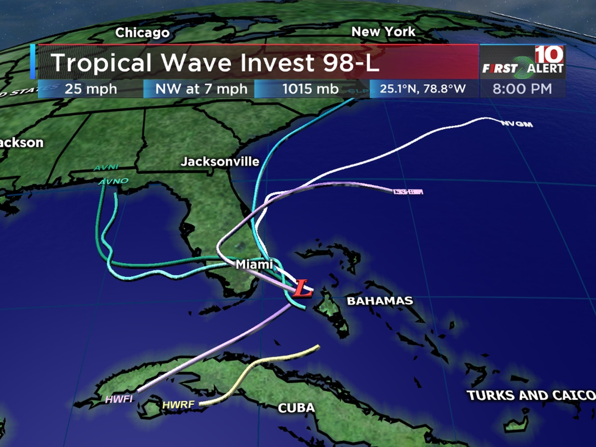 FIRST ALERT: A potential tropical system could impact parts of the Southeastern coast starting this weekend