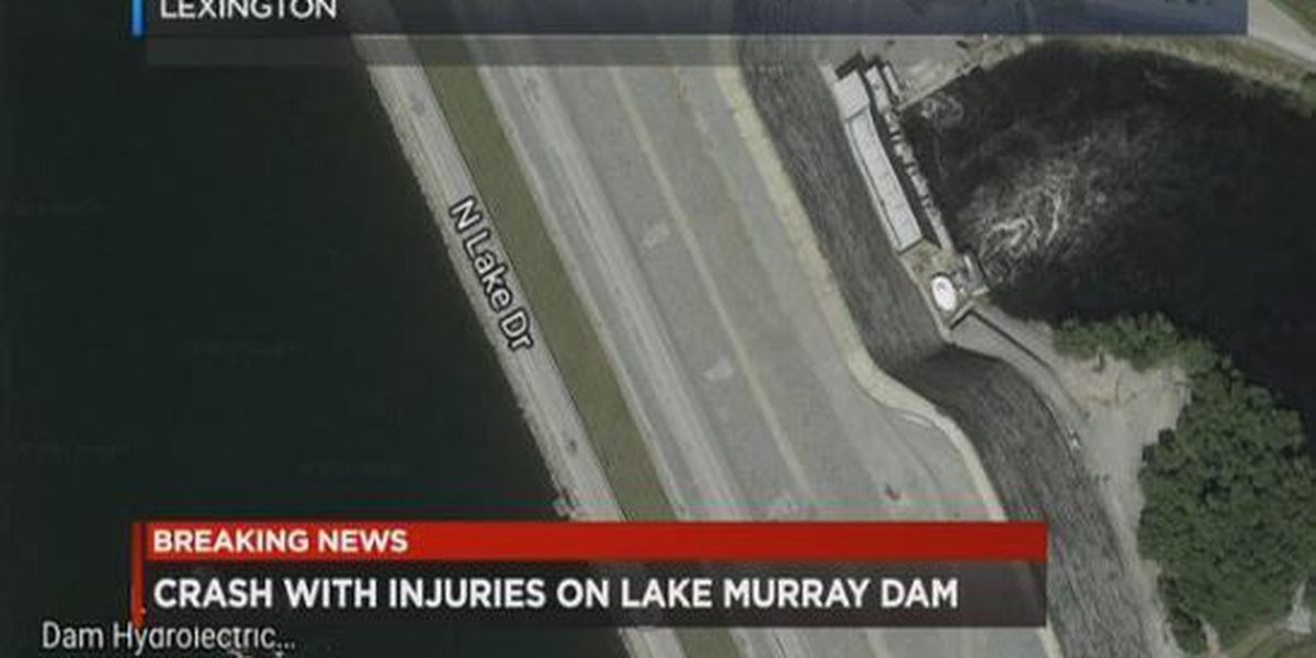 Collision with injuries reported near Lake Murray Dam in Lexington