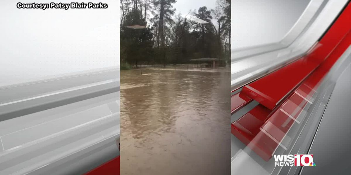 High water subsiding in Newberry as city gets break from rain