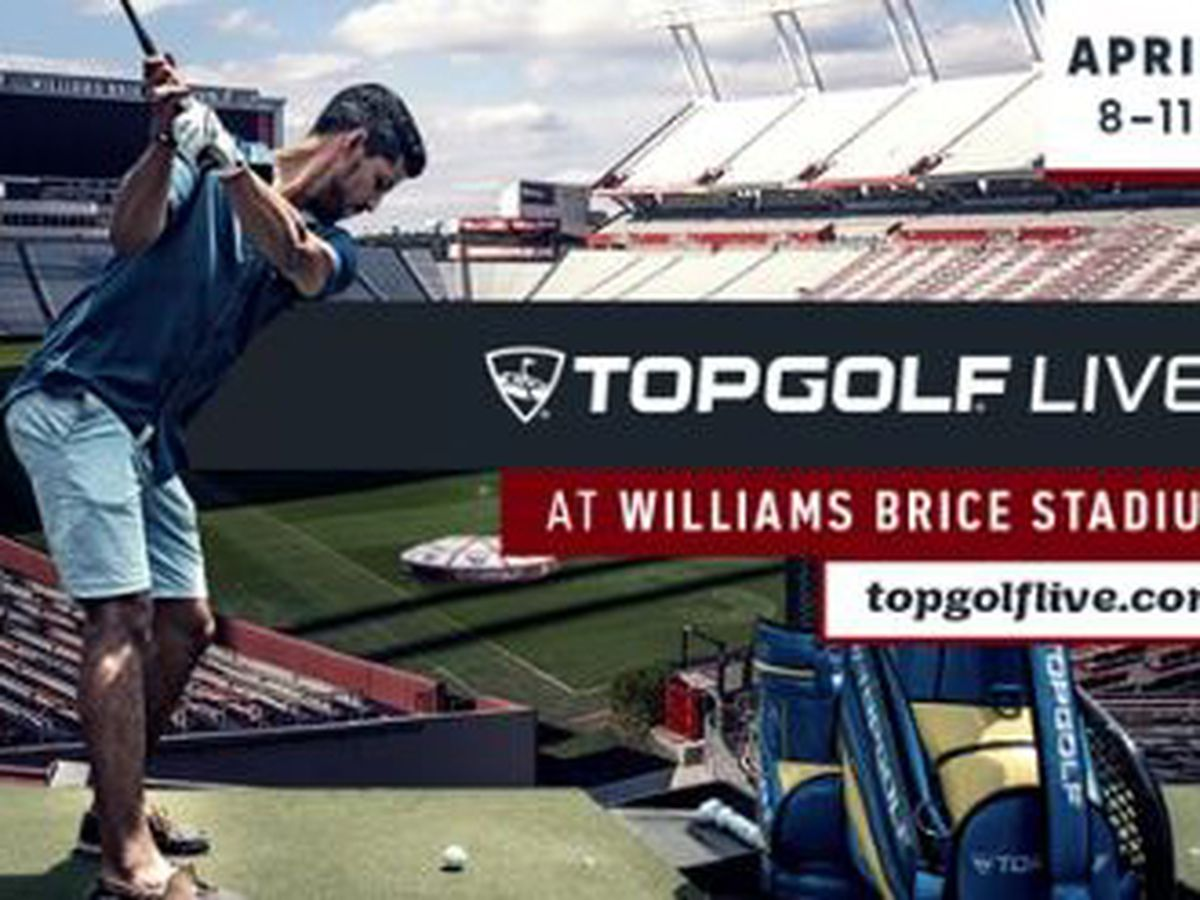Play Topgolf Live under the lights at Williams-Brice