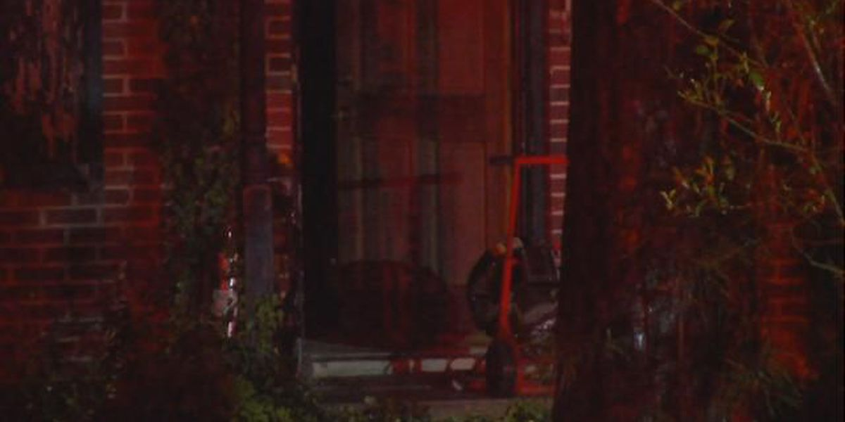 Lightning strike suspected cause of house fire