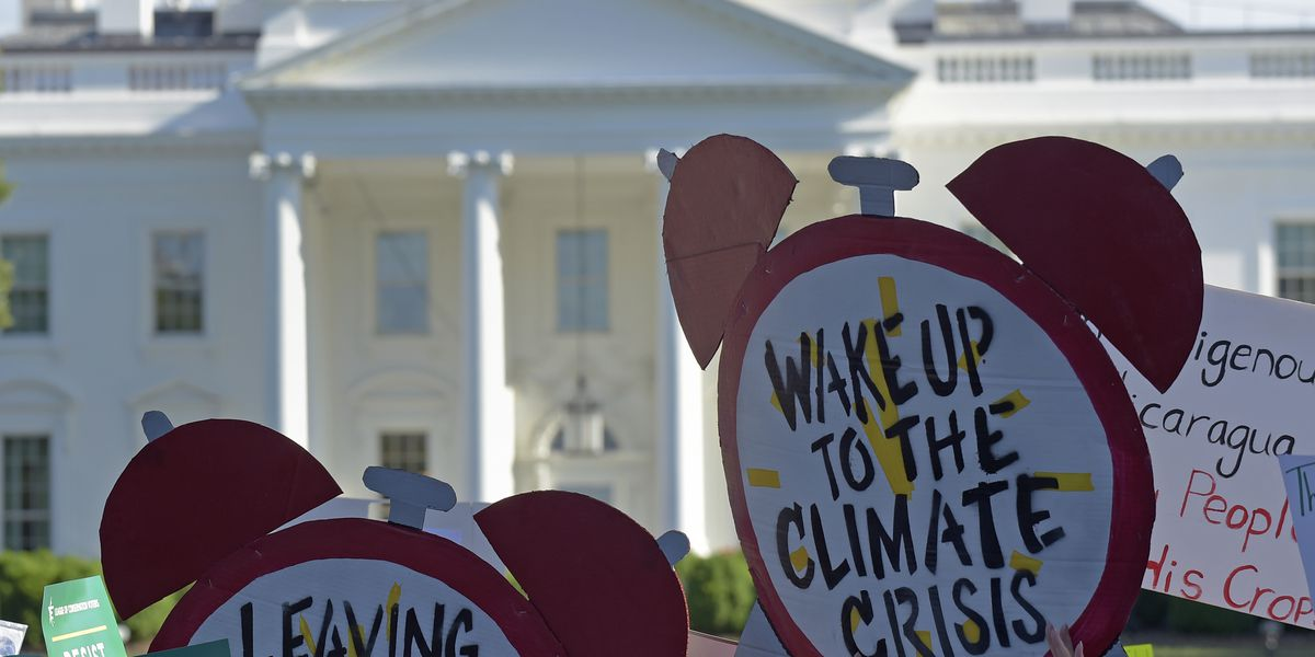Presidential hopefuls pushed to go big on climate change